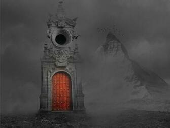 gothic horror gate wallpaper   ForWallpapercom
