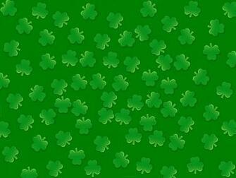 Irish Clover Background 4 leaf clover