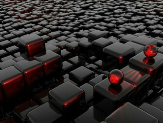 Black Box And Square Wallpapers HD Wallpaper 3D Abstract