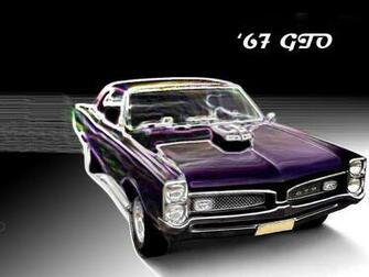 1967 Pontiac Gto Wallpaper 1967 1969 Black car Cars chrome