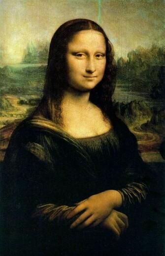 Mona Lisa Wallpaper 743x1155 Mona Lisa