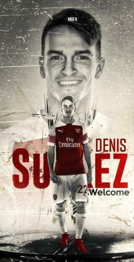 denis suarez wallpaper arsenal 2019 by 10mohamedmahmoud