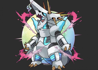 Mega Aggron FAN MADE by Dragonith