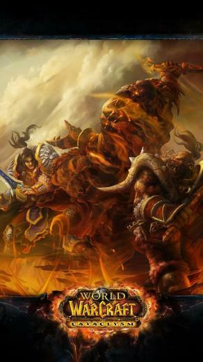 Wallpaper 640x1136 wow cataclysm world of warcraft battle warcraft