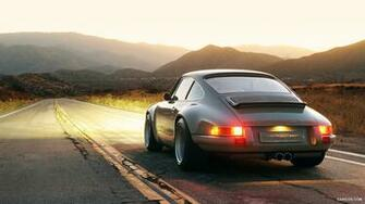 Singer Porsche 911   Rear HD Wallpaper 283