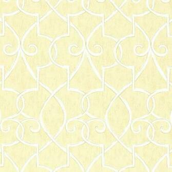 Hampton Lattice Wallpaper in Yellow   Geometric Wallpaper   Wallpaper