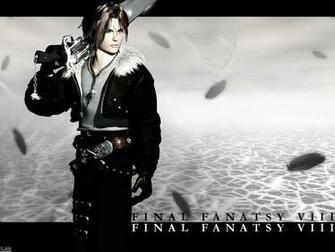 Final Fantasy Viii Squall Leonhart New Hd Wallpaper retrodragon