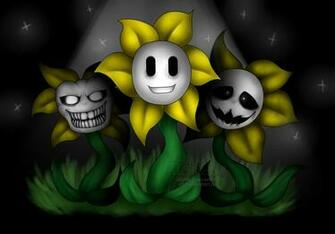 Undertale Flowey the Flower by Isledow