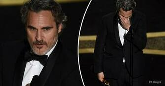 Oscars Joaquin Phoenix pays emotional tribute to late brother