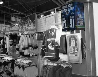 Vancouver Canucks Team Store The Portfolio Site of John Shigeta
