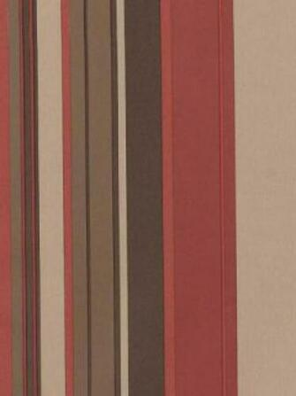 Stripe Retro Wallpaper Burgundy Beige Brown   DY Home Decor