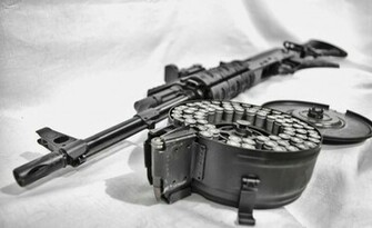 Machine Gun 25601568 Wallpaper 2168113