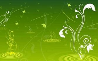Green Swirls Wallpaper   Green Wallpaper 20988856