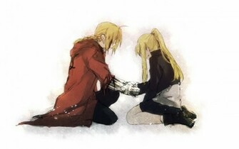 Edward Elric Wallpaper 1920x1200 Edward Elric Winry Rockbell Full