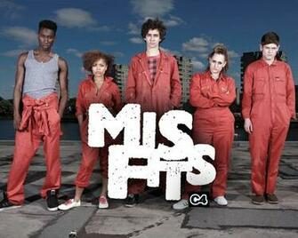 UK Girls  Lovers Of All British Things images Misfits [TV Series