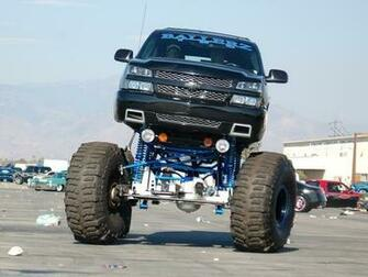 Chevy Truck Lifted Wallpaper   Car Release Date Reviews