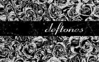 Grunge deftones grayscale roses wallpaper 40524