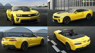 2014 Chevrolet Camaro ZL1 Convertible wallpaper   1081599