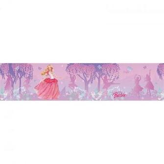 Wallpaper Border Closeout Barbie Dancing Princess Peel and Stick