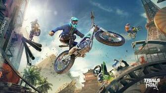 Trials Rising will include these cross platform features   Team VVV
