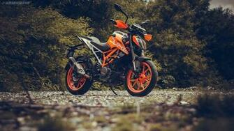2017 KTM Duke 390 HD wallpapers IAMABIKER