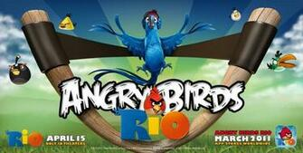 Download Angry Birds Rio Movie Wallpapers and Windows 7 Themes