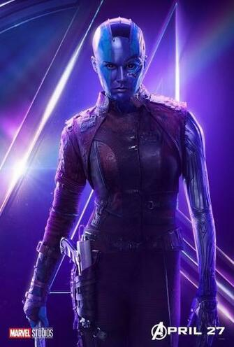 The Avengers images Avengers Infinity War   Nebula Poster HD