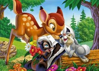 Pin Disney Wallpaper Bambi 1366x768 Picture