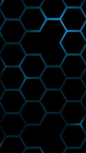 free cool blue hexagon wallpapers for iphone 5 640x1136 hd iphone 5