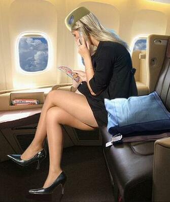STEWARDESS Stewardess Flight Attendant Air Hostess Cabi