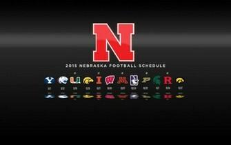 2015 Nebraska Cornhuskers Football Schedule Wallpaper Preview