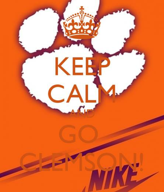 Clemson Wallpaper Iphone Keep calm and go clemson