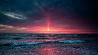 Gallery For gt Ocean At Sunset Wallpaper