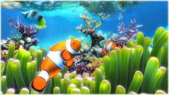Screenshots of Clownfish Aquarium Live Wallpaper 3858