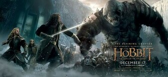 The Hobbit 3 The Battle of the Five Armies 2014 Movie Smaug Desktop