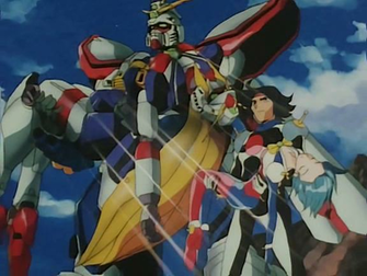 Domon holds Allenby after the two finish a devastating battle