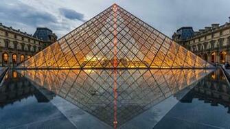 The Louvre HD wallpaper for 4K 3840 x 2160   HDwallpapersnet