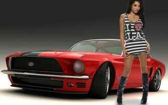 Tuning girls tuned cars Tuninger