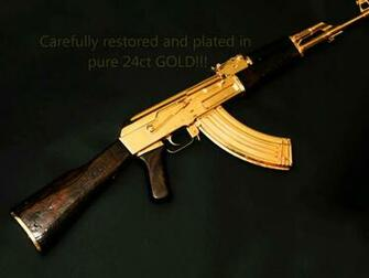 AK47 Gold Plated