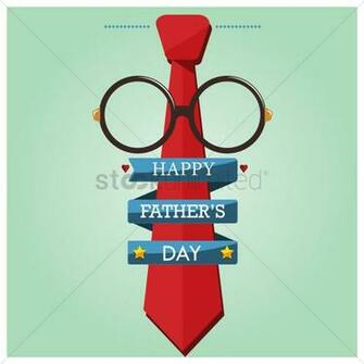 Happy fathers day wallpaper Vector Image   1585477 StockUnlimited