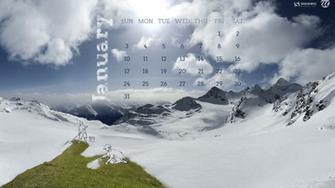 January 2016 Calendar Desktop Wallpaper 2016 Happy Holidays Day 2016