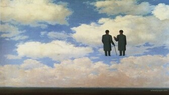 Rene Magritte Wallpaper Art Print Painting Wallpapers