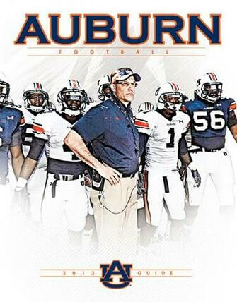 AUBURNTIGERSCOM Sneak Peek Auburns 2013 Football Guide Auburn