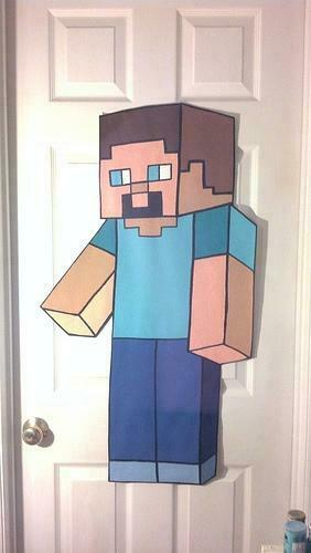 sticker wall decor kids minecraft bedroom Flickr   Photo Sharing