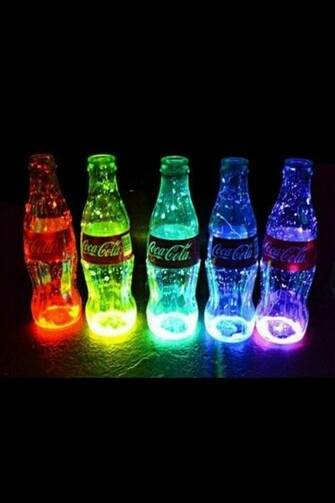 Cool Neon Lights Coca cola cool lights neon