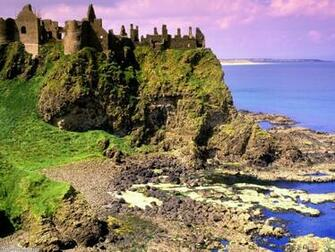 Dunluce castlecounty antrim northern ireland wallpaper