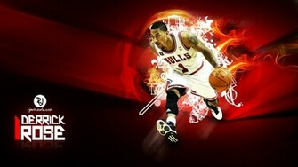 Derrick Rose Wallpaper by rjartwork