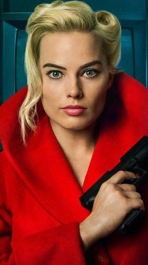 Margot Robbie Terminal 2018 movie poster 720x1280 wallpaper