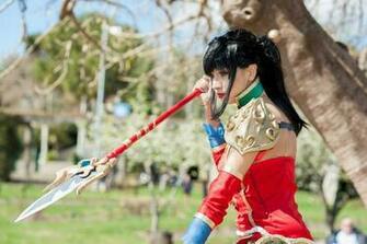 Warring Kingdoms Nidalee cosplay by Elifissa
