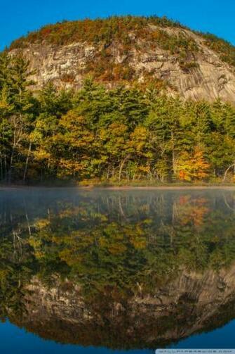 Echo Lake White Mountains New Hampshire 4K HD Desktop